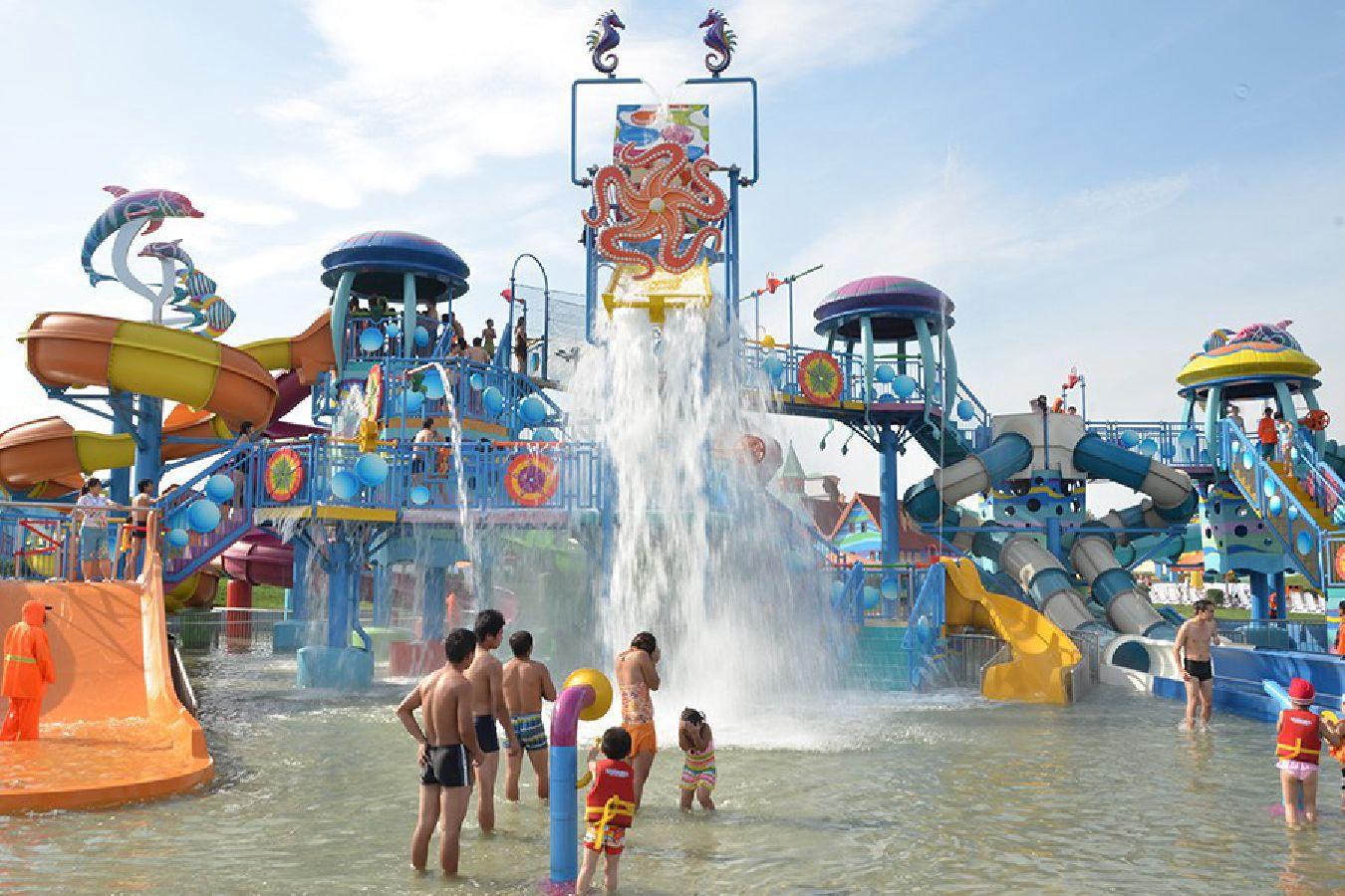Jasa Kontraktor Waterpark Fiber